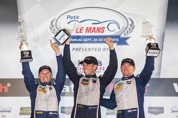 ViperExchange.com Ends Dodge Viper IMSA Racing Career With a Victory From the Pole at Petit Le Mans