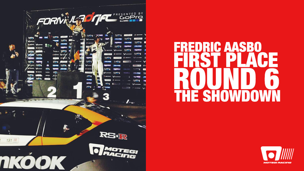 FORMULA DRIFT ROUND 6: SHOWDOWN RESULTS; FREDRIC AASBO IS VICTORIOUS AT TEXAS MOTOR SPEEDWAY