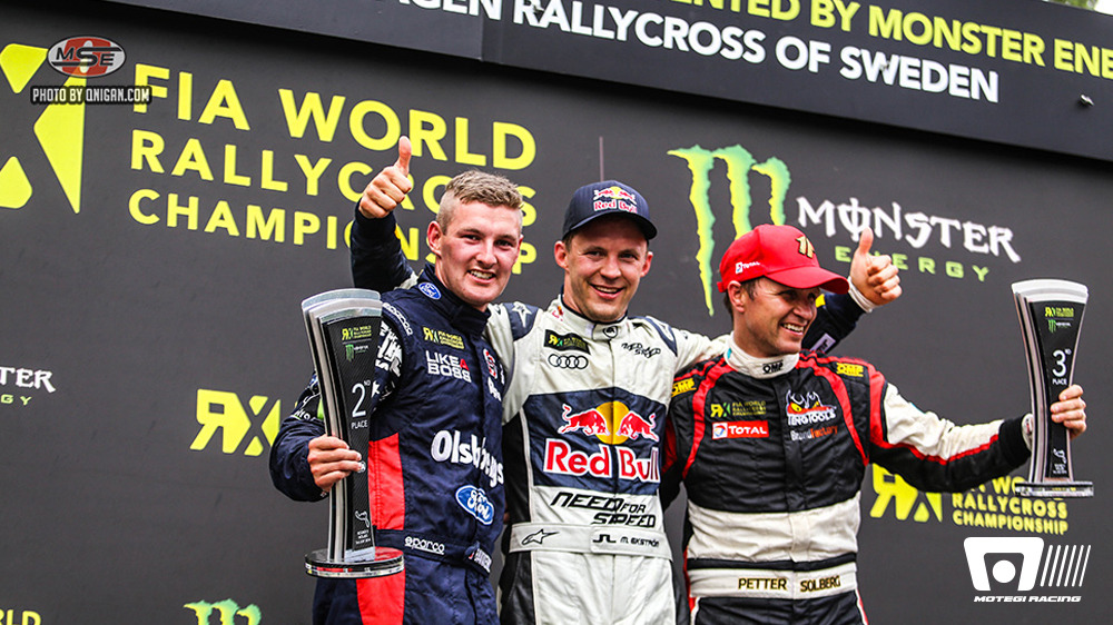 OLSBERGS MSE FORD CONTINUES PODIUM STREAK IN SWEDEN ANDREAS BAKKERUD SCORES SECOND PLACE IN ACTION-PACKED FINAL