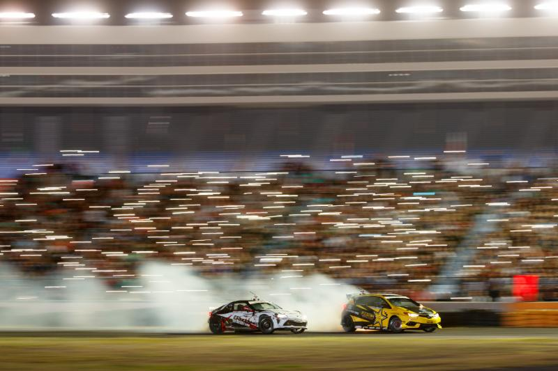 Fredric Aasbo vies for second Formula Drift championship this weekend