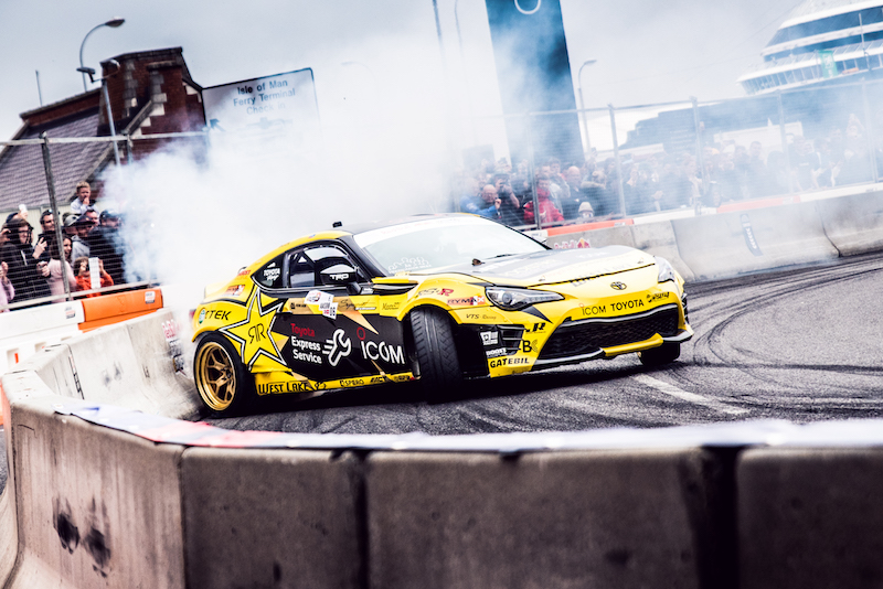 Fredric Aasbo Third at Drift Shifters