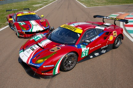 MOTEGI RACING WHEELS BECOMES TECHNICAL PARTNER FOR FERRARI CHALLENGE AND GT CHAMPIONSHIP SERIES