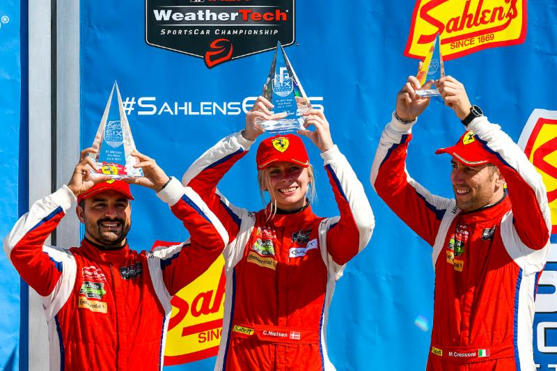North American Endurance Cup Victory at Six Hours of Watkins Glen Creates Championship Lead for Scuderia Corsa