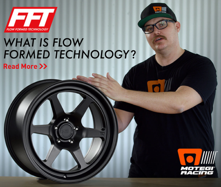 What is Flow Form Technology? Check out professional driver Corey Hosford as he explains the advantages of FFT.