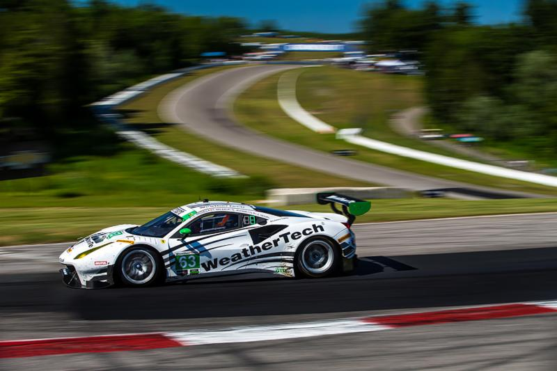 Scuderia Corsa Finishes Top Ten in Challenging Day in Canada