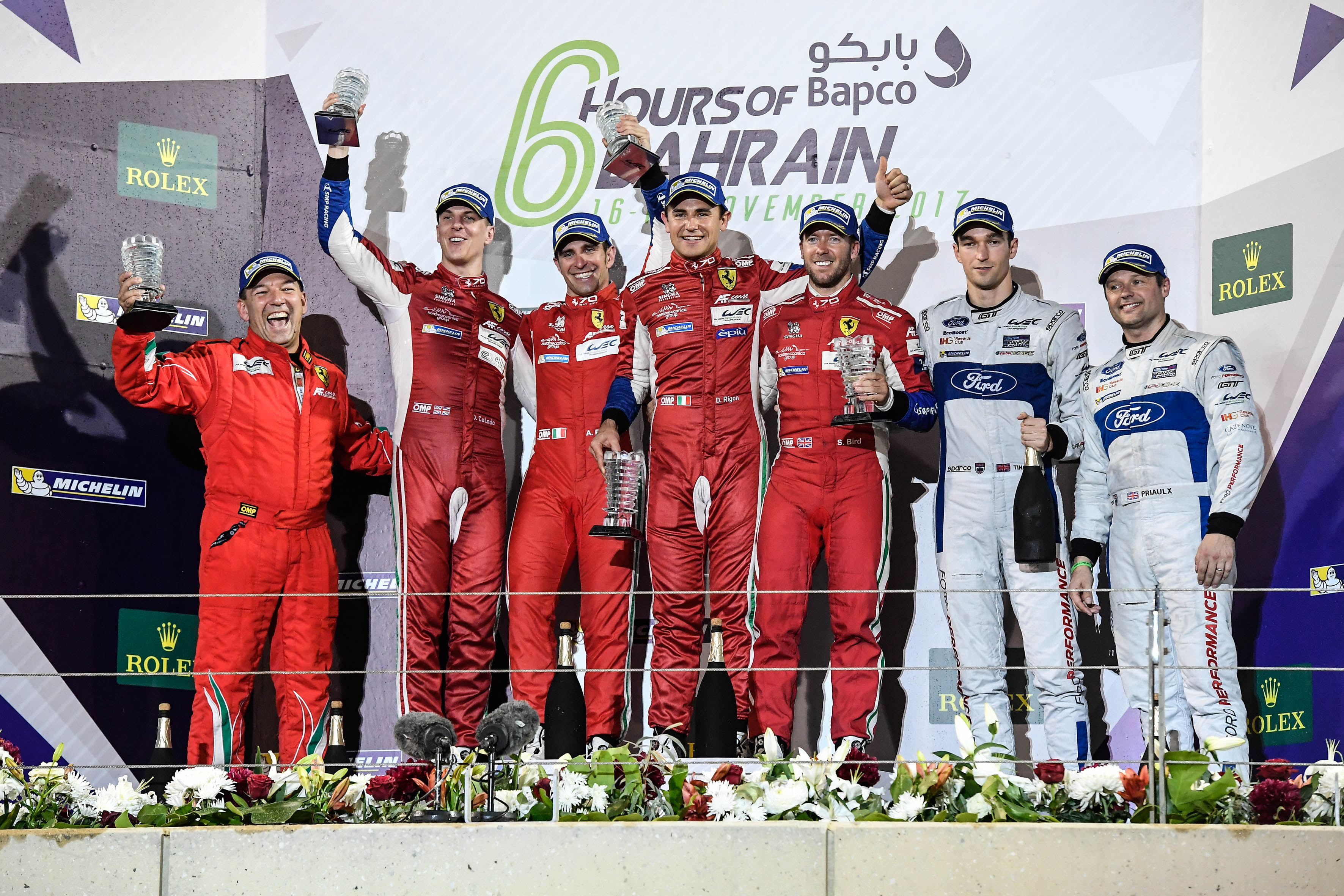 Pier Guidi and Calado Win World Endurance Championship