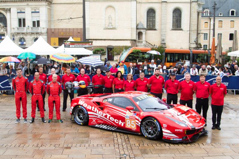 KEATING MOTORSPORTS RISI COMPETIZIONE Pre-Race Preview for 24 Hours of Le Mans – 2018