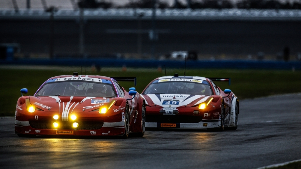 BELL, SWEEDLER TO DEFEND ROLEX 24 GT DAYTONA CROWN