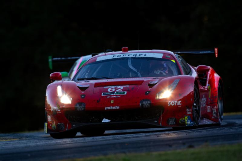 RISI COMPETIZIONE POST RACE REPORT FOR THE MOTUL PETIT LE MANS