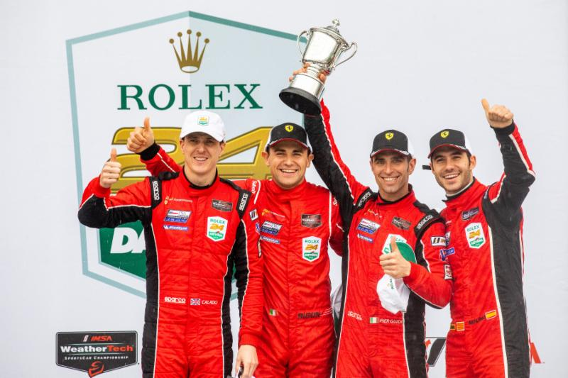 MOTEGI RACING TECHINCAL PARTNERS RISI COMPETIZIONE FINISHES SECOND AT 2019 ROLEX 24 AT DAYTONA