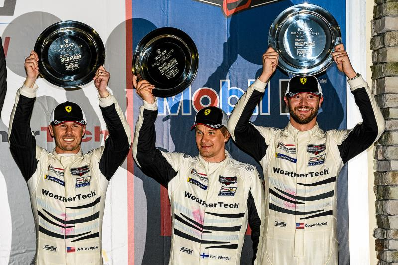 Strategy and Speed Earns Fifth Consecutive Podium at Sebring for Scuderia Corsa
